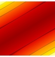 Abstract red and orange rectangle shapes vector image vector image