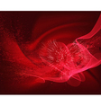 beautiful heart background design with space for vector image