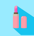lipstick cartoon isolated vector image vector image