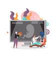 pregnancy concept for web banner website vector image vector image