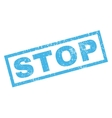 Stop Rubber Stamp vector image vector image