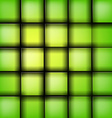 green rectangle vector image