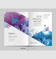 cover design template brochures vector image