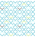 Bright blue geometrical modern seamless pattern vector image