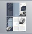brochure design 872 vector image vector image