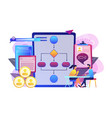 employee assessment software concept vector image
