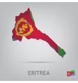 eritrea vector image vector image