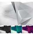 Geometric abstract background vector image