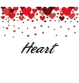 heart love card icon vector image vector image