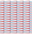 horizontal arrow stripes all over print vector image vector image