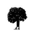 tree 02 vector image vector image