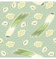 vegetable pattern vector image vector image