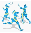 womens tennis sport vector image