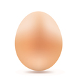 yellow egg vector image