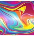Abstract colorful line background template vector image vector image