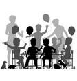 boys party vector image vector image