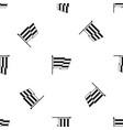 flag lgbt pattern seamless black vector image vector image