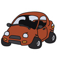 Funny car vector image vector image