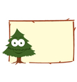 Funny Fir Frame vector image vector image