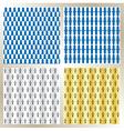 Heraldic pattern background vector image