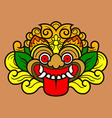 Kalamakara Ornament Color vector image vector image