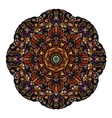 Most mandala consisting of complex elements Drawn vector image