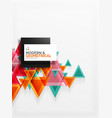 paper art style triangle pattern texture abstract