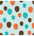 Retro Pattern Balloons vector image vector image