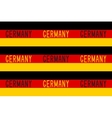 Seamless pattern in german patriotic style vector image vector image