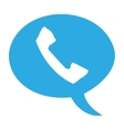 telephone retro isolated icon vector image vector image