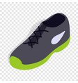 tennis shoe isometric icon vector image