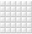 white tiles seamless pattern vector image vector image