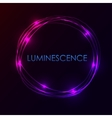 Abstract light circles background
