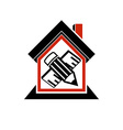 Architectural design conceptual symbol simple vector image