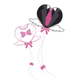 Balloon for Wedding vector image vector image