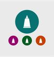 cream tube icon simple barbershop vector image