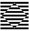 Diamond stripes vector image vector image