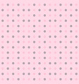 rose flower pattern seamless background vector image vector image