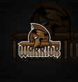 Warrior logo high resolution image
