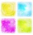 abstract background colorful set vector image