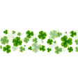 background st patricks day card vector image vector image