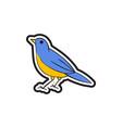 bird logo icon design vector image