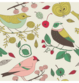 bird nature background vector image vector image