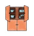 cupboard vector image vector image