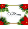 holiday new year and merry christmas background vector image vector image