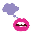 lips color vector image vector image