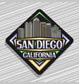 logo for san diego vector image vector image