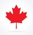 maple leaf canada vector image vector image