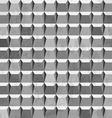metal grunge seamless pattern vector image vector image