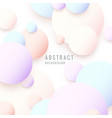 modern abstract background template with circles vector image